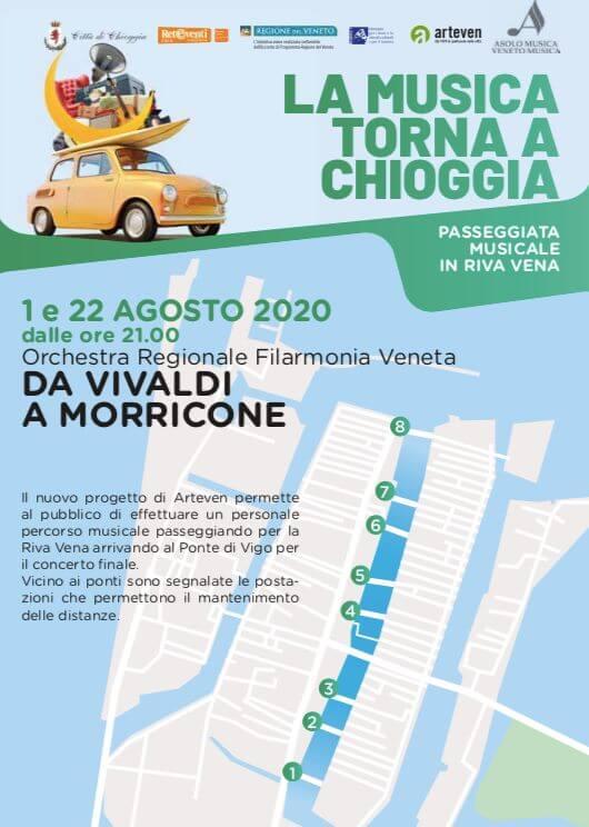 Evento - La musica torna a Chioggia