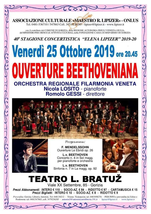 Locandina Concerto apertura stagione Lipizer