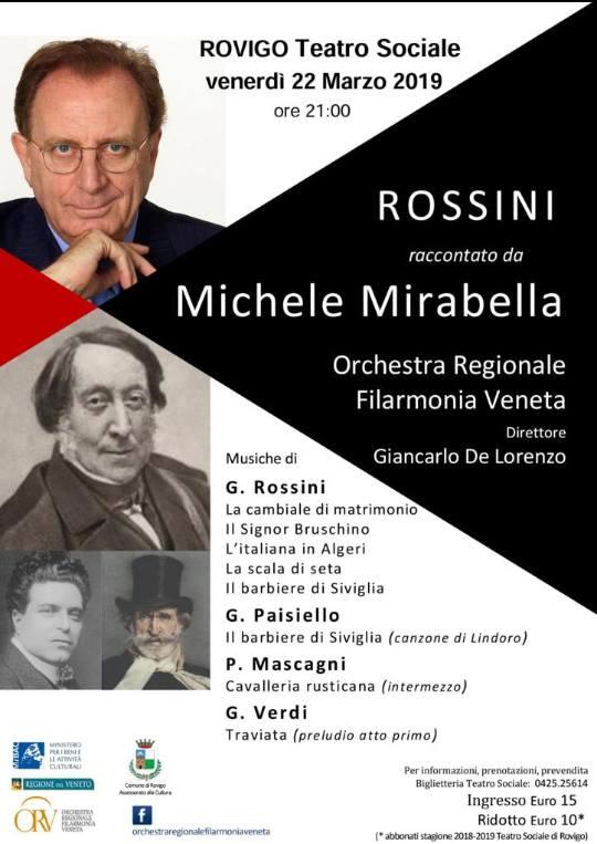 Locandina Mirabella racconta Rossini
