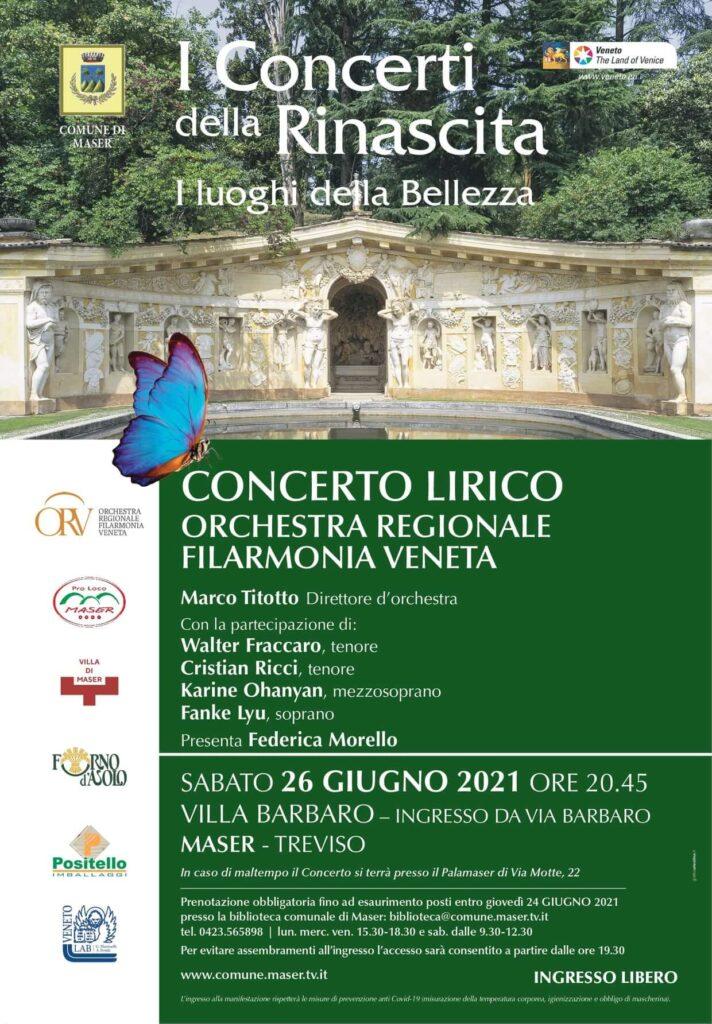 Maser 26-06-2021 - Concerto lirico a Villa Barbaro