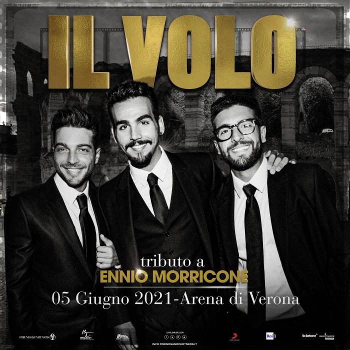 Locandina Il Volo a Verona 5 giugno 2021